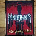 Manowar Into Glory Ride Patch