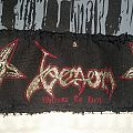 Venom Welcome To Hell Stripe-Patch