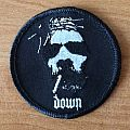 Down - Patch - Down circle patch