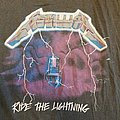 Metallica - Ride the lightning euro tour - 1984 TShirt or Longsleeve