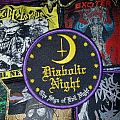 Diabolic Night - The Sign Of Evil Night Patch