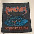 Sepultura - Patch - Sepultura - Schizophrenia