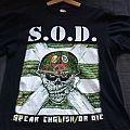 S.O.D. t-shirt