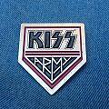 KISS pin badges