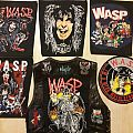 Meine W.a.s.p. Backpatches