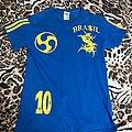 Sepultura - TShirt or Longsleeve - Sepultura blue brazil soccer t-shirt
