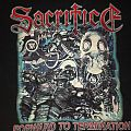 Sacrifice - Forward to Termination Shirt
