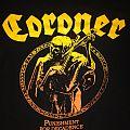 Coroner - Punishment for Decadence Shirt