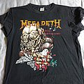 Megadeth - TShirt or Longsleeve - Crushed Dove Peace Sells.....But Who's Buying
