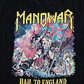Manowar - TShirt or Longsleeve - Hail To England