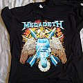 Megadeth - TShirt or Longsleeve - Eagle and Missiles