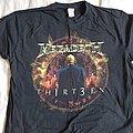 Megadeth - TShirt or Longsleeve - Thirteen