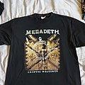 Megadeth - TShirt or Longsleeve - Cryptic Writings