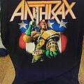 Anthrax - TShirt or Longsleeve - I Am The Law