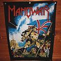 "Patch - Manowar ""Hail to England"" Backpatch"