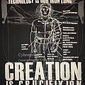 Creation Is Crucifixtion - Technology Is Our Iron Lung - T-Shirt