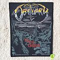 Obituary - The End Complete - Grey Version - 1992 Blue Grape - Razamataz - Back Patch