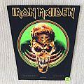 Iron Maiden - Live At Donington - 1992 Iron Maiden Holdings Ltd. - Razamataz - Back Patch