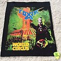 Toxik - World Circus - Back Patch - Boot