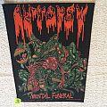 Autopsy - Mental Funeral - 1991 Swagman Peaceville - Razamataz - Backpatch