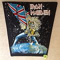 Iron Maiden - The Beast On The Road - Vintage Backpatch