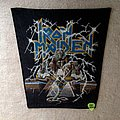 Iron Maiden - Powerslave - Vintage Backpatch