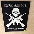 Iron Maiden - A Matter Of Life And Death - Eddie Crossed Guns - 2011 Iron Maiden Holdings Ltd. - Backpatch