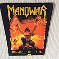 Manowar - Triumph Of Steel - 1992 Concert Merchandising/Manowar - Back Patch