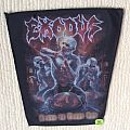 Exodus - Blood In, Blood Out - 2014 Exodus - Back Patch