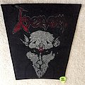 Venom - Black Metal - RED Logo - Vintage Backpatch