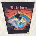 Rainbow - Rising - Vintage Back Patch