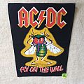 AC/DC - Fly On The Wall - Vintage Backpatch