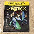 Anthrax - Spreading The Disease - 1989 Brockum Back Patch