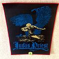 Judas Priest - Sad Wings Of Destiny - Red Border - Woven Backpatch