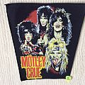 Mötley Crüe - Band Picture 2 - Yellow/Red Logo - Vintage Back Patch
