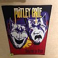 Mötley Crüe - Theatre Of Pain - With Title - Vintage Backpatch