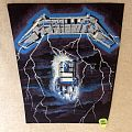 Metallica - Ride The Lightning - Vintage Backpatch - Version 2
