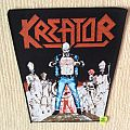 Kreator - Terrible Certainty - Vintage Back Patch