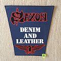 Saxon - Denim And Leather - Vintage Back Patch