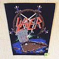Slayer - Postmortem - Reign In Pain - 1989 Slayer - Back Patch
