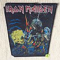 Iron Maiden - Live After Death - 1985 Iron Maiden Holdings Ltd. - Back Patch