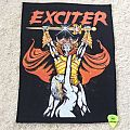 Exciter - Long Live The Loud - Vintage Back Patch
