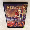 Megadeth - Peace Sells... But Who's Buying? - Vintage Backpatch - Long Version