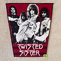 Twisted Sister - Band - Red Version - Vintage Backpatch