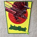 Judas Priest - Screaming For Vengeance - Green Border - Vintage Backpatch
