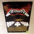 Metallica - Master Of Puppets - Green Version - Vintage Backpatch