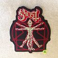Ghost - Popestar - Shaped Backpatch - Original Embroidered Merchandising