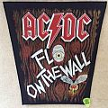 AC / DC - Fly On The Wall - Vintage Backpatch