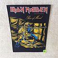 Iron Maiden - Piece Of Mind - 1983 Iron Maiden Holdings Ltd. - Backpatch