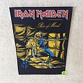 Iron Maiden - Piece Of Mind - 1983 Iron Maiden Holdings Ltd. - Backpatch